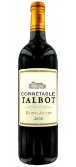 CONNETABLE DE TALBOT 2010 - SECOND VIN DU CHATEAU TALBOT (Frankreich - Wein Bordeaux - Saint-Julien AOC - Wein Rot - 0,75 L)