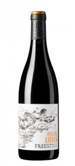 FREESTYLE - FIGURE LIBRE - 2013 - DOMAINE GAYDA (Frankreich - biowein Languedoc Roussillon - Pays d'Oc IGP - Rotbiowein - 0,75 L
