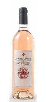 ROSE 2014 - LA COMMANDERIE DE PEYRASSOL (Frankreich - wein Provence - Côtes de Provence AOC - Roséwein - 0,75 L)