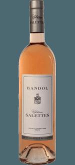 BANDOL ROSE 2015 - CHÂTEAU SALETTES