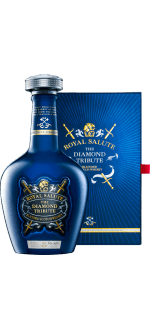 ROYAL SALUTE - THE DIAMOND TRIBUTE - EN GESCHENKSET