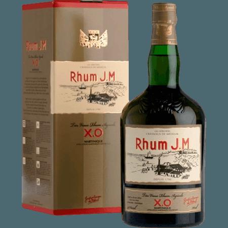 RUM J.M. - TRES VIEUX RUM AGRICOLE - X.O. - MIT ETUI