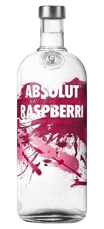ABSOLUT RASPBERRI - VODKA HIMBEER GESCHMACK - ABSOLUT VODKA