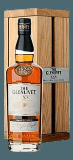 GESCHENKSET THE GLENLIVET 25 JAHRE - EN GESCHENKSET