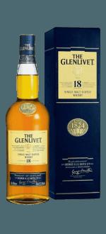THE GLENLIVET 18 JAHRE - EN ETUI