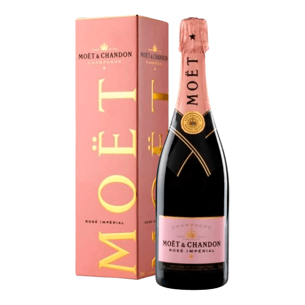 Moet chandon rose brut champagner rose hier online kaufen for What is rose champagne