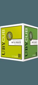 BIB WEISSWEIN - UBY CUBE BLANC SEC - DOMAINE UBY