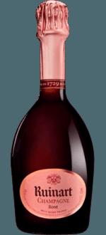 CHAMPAGNER RUINART - BRUT ROSE - HALBE FLSCHE - Halbe Flasche