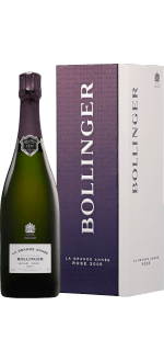 CHAMPAGNER BOLLINGER - LA GRANDE ANNEE ROSE 2005 - EN GESCHENKSET
