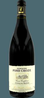 CUVEE CONFIDENCE 2014 - DOMAINE FOND CROZE
