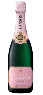 LANSON CHAMPAGNER ROSE LABEL