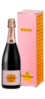 CHAMPAGNER VEUVE CLICQUOT - CLICQUOT MESSAGE - BRUT ROSE