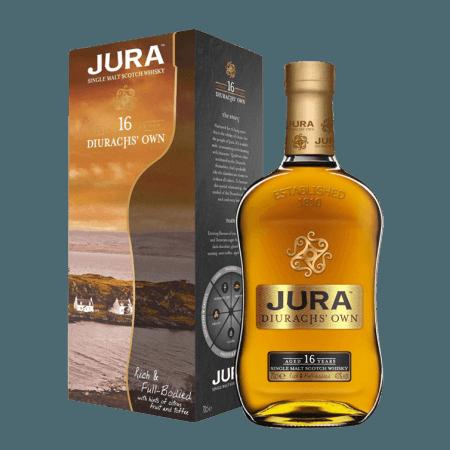JURA 16 JAHRE ALT DIURACH'S OWN - EN ETUI