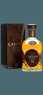 CARDHU SINGLE MALT 12 JAHRE - MIT ETUI