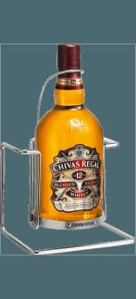 MAGNUM CHIVAS REGAL 12 JAHRE + METALLSCHAUKEL