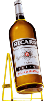 GALLON PASTIS RICARD + METALLSCHAUKEL