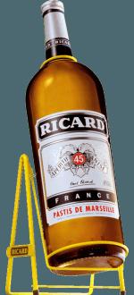 GALLON PASTIS RICARD + METALLSCHAUKEL