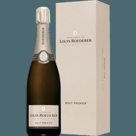 LOUIS ROEDERER - BRUT PREMIER CHAMPAGNER - GESCHENKBOX