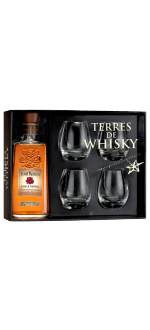 FOUR ROSES SINGLE BARREL + 4 WHISKY GLÄSER - EN GESCHENKSET