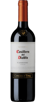 CASILLERO DEL DIABLO - CONCHA Y TORO - RESERVA CARMENERE 2015