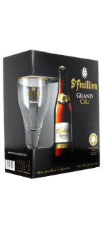 GESCHENKSET SAINT FEUILLIEN GRAND CRU 4X33CL + 1 GLAS - BRAUEREI SAINT FEUILLIEN
