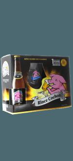 GESCHENKSET RINCE COCHON 3X33CL + 1 GLAS - BRAUEREI HAACHT