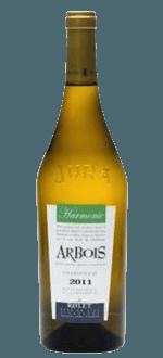 ARBOIS BLANC HARMONIE 2013 - DOMAINE ROLET & FILS