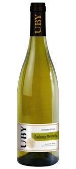 CHARDONNAY - MUSCADELLE 2013 - DOMAINE UBY (Frankreich - wein Südwestfrankreich - Côtes de Gascogne IGP - Weißwein - 0,75 L)