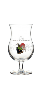 GLAS LA CHOUFFE 25CL - BRAUEREI D'ACHOUFFE