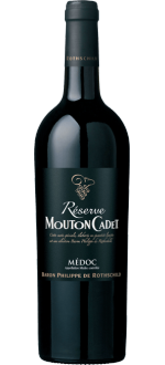 MEDOC 2014 - RESERVE MOUTON CADET - BARON PHILIPPE DE ROTHSCHILD