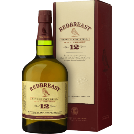 REDBREAST 12 JAHRE SINGLE POT STILL - MIT ETUI