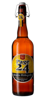 PAGE 24 RESERVE HILDEGARDE BLONDE 75CL - BRAUEREI SAINT GERMAIN