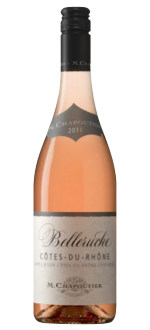 BELLERUCHE ROSE 2016 - MICHEL CHAPOUTIER