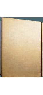 GESCHENKETUI KARTON - 3 FLASCHEN - GOLD