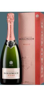 BOLLINGER CHAMPAGNER - BRUT ROSE - MIT ETUI