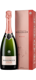 CHAMPAGNER BOLLINGER - BRUT ROSE - MIT ETUI