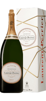 LAURENT PERRIER CHAMPAGNER- LA CUVEE - METHUSALEM - IN HOLZKISTE
