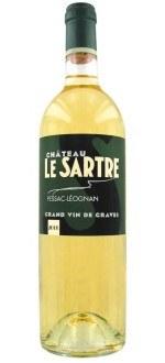CHATEAU LE SARTRE 2009 ( France-Bordeaux-Pessac-Léognan AOC-Blanc-0,75L )