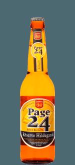 PAGE 24 RESERVE HILDEGARDE BLONDE 33CL - BRAUEREI SAINT GERMAIN