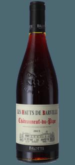 LES HAUTS DE BARVILLE ROUGE 2015 - MAISON BROTTE