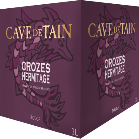 BAG-IN-BOX - WEINSCHLAUCH CROZES-HERMITAGE GRAND CLASSIQUE - CAVE DE TAIN