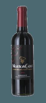 MOUTON CADET 2015- BARON PHILIPPE DE ROTHSCHILD - HALBE FLASCHE