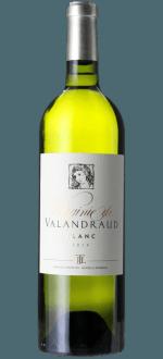 VIRGINIE DE VALANDRAUD BLANC 2014 - ZWEITWEIN BLANC DE VALANDRAUD