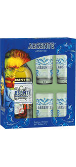 ABSENTE GESCHENKSET + 4 GLÄSER