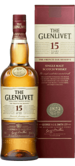 THE GLENLIVET FRENCH OAK 15 JAHRE - EN ETUI