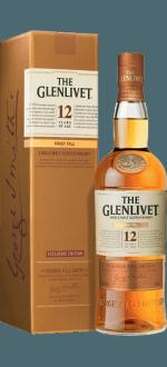 THE GLENLIVET FIRST FILL 12 JAHRE ALT - EN ETUI