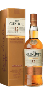 THE GLENLIVET FIRST FILL 12 JAHRE ALT - MIT ETUI