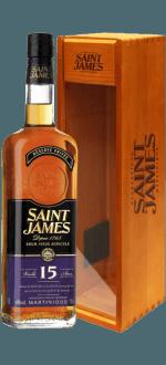 SAINT JAMES RUM VIEUX 15 JAHRE - ETUI BOIS