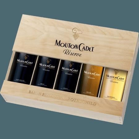 MOUTON CADET RESERVE - BARON PHILIPPE DE ROTHSCHILD - ROTHSCHILD WEINGESCHENKSET