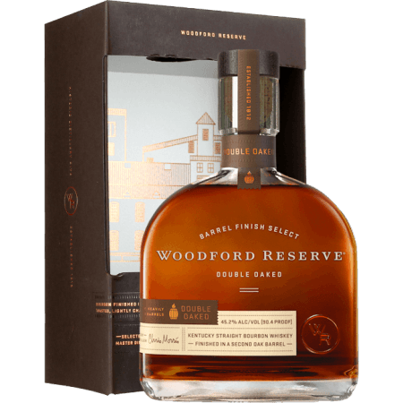 WOODFORD RESERVE BOURBON DOUBLE OAKED - MIT ETUI